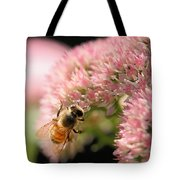 Bee On Flower 3 Tote Bag
