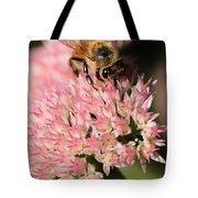 Bee On Flower 4 Tote Bag