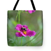Bee On Flower Tote Bag