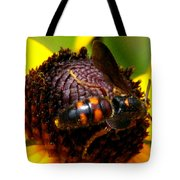 Bee On Lazy Susan 4 Tote Bag
