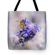 Bee On Sage Tote Bag