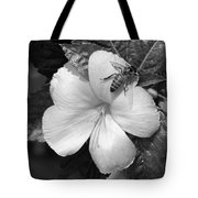Bee On The Edge Tote Bag