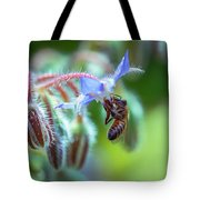 Bee On The Flower 2 Tote Bag
