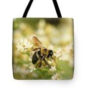 Bee On Top Of Things Tote Bag