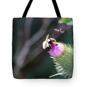Bee Pollination Tote Bag
