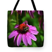 Bee Taking A Rest Tote Bag