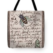 Bee You Tote Bag