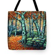 Beech Woods Tote Bag