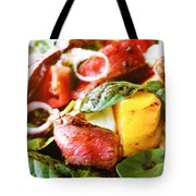 Beef And Onions Tote Bag