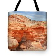 Beehives Above Wash 3 In Valley Of Fire Tote Bag