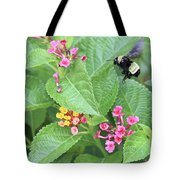 Beeing Amongst The Flowers Tote Bag