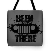 Been There In A Jeep Tote Bag