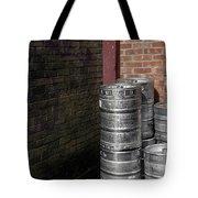 Beer Keggs And Graffiti Tote Bag