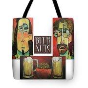 Beer Nuts Tote Bag