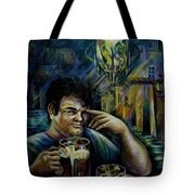 Beer Of Prague Tote Bag