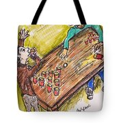 Beer Pong Madness Tote Bag