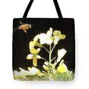 Bees Love Broccoli Tote Bag
