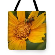 Bees Love Coreopsis Tote Bag