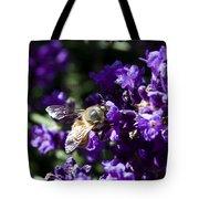 Bees Love Purple Tote Bag