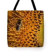 Bee's Sunflower Tote Bag