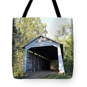 Beeson Covered Bridge Indiana Tote Bag