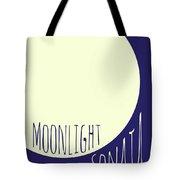 Beethoven Moonlight Sonata Tote Bag