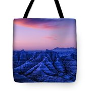 Before Sunrise, Badlands National Park Tote Bag