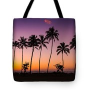 Before Sunrise In Kauai Tote Bag