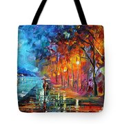 Before The Birds Start Singing Tote Bag