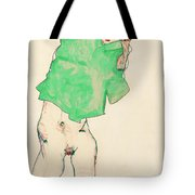 Before The Mirror Tote Bag