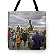 Before The Rain On The Charles Bridge Tote Bag