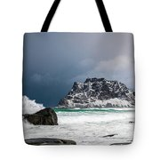 The Coming Of The Storm Tote Bag
