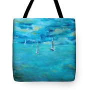 Before The Storm Tote Bag by Chaline Ouellet