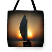 Before The Sun Sets... Tote Bag