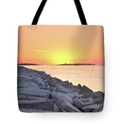 Beginning Of A New Day Tote Bag
