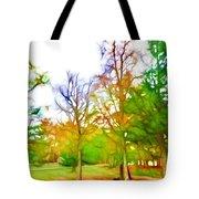 Beginning Of Autumn Tote Bag