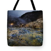 Beginning Of Earth Tote Bag