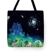 Beginning Of The Great Voyage Tote Bag