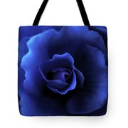 Begonia Floral Dark Secrets Tote Bag