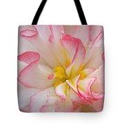 Begonia Pink Frills - Vertival Tote Bag