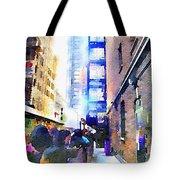 Behind Broadway Tote Bag