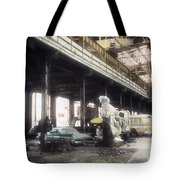 Behind Closed Doors Tote Bag