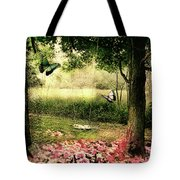 Behind Our House Tote Bag