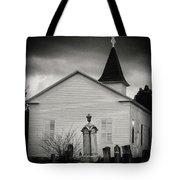 Behind The Church Tote Bag