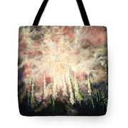 Behind The Light Tote Bag