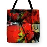 Behind The Poppies Tote Bag