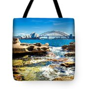 Behind The Rocks Tote Bag