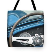 Behind The Wheel Tote Bag