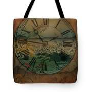 Behind Time Tote Bag