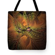 Behold A Universe - Fractal Art Tote Bag